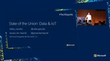 State of the Union: Data & IoT