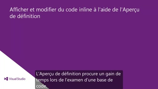 Visual Studio 2013 Ultimate: Aperçu de définition