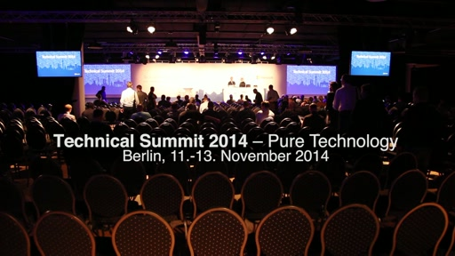 Technical Summit 2014: Pure Technology