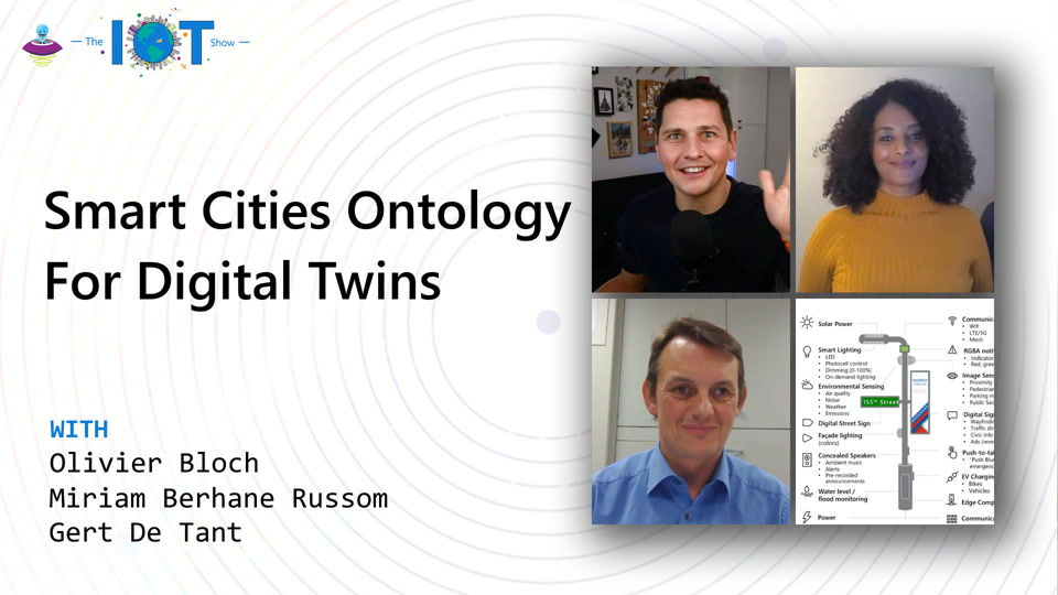 Smart Cities Ontology for Digital Twins