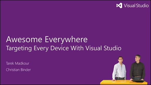 Episode 14 - Visual Studio Awesome Everywhere - Interview