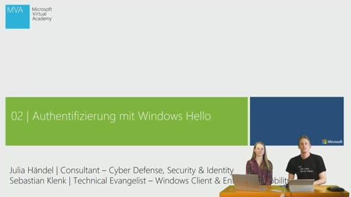 02| Authentifizierung mit Windows Hello