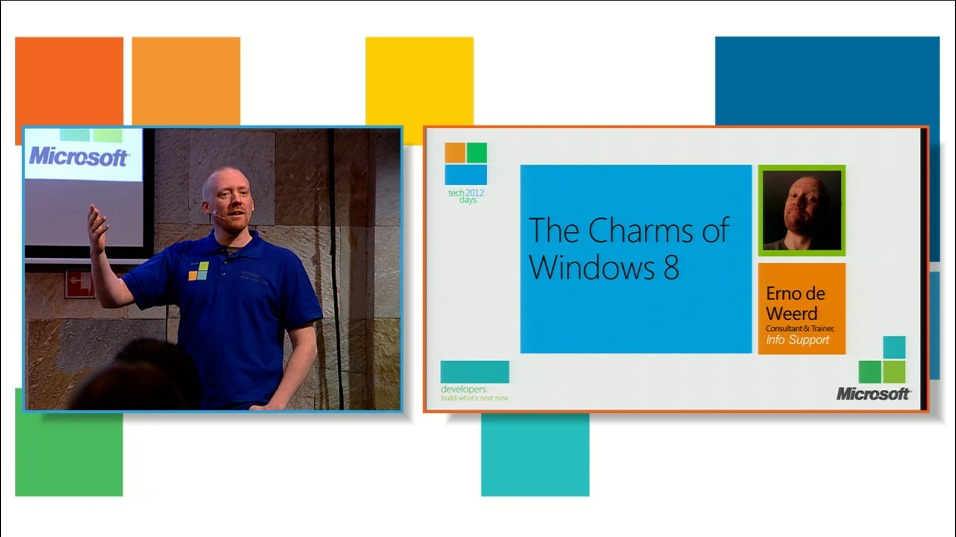 The Charms of Windows 8