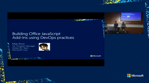 Building Office JavaScript Add-Ins using DevOps practices