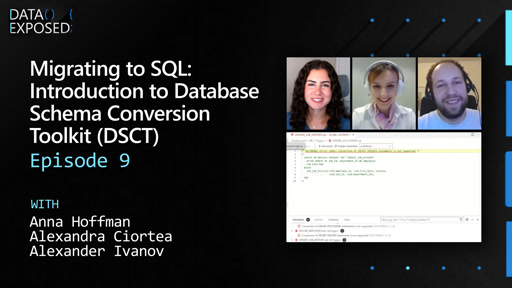 Migrating to SQL: Introduction to Database Schema Conversion Toolkit (DSCT) (Ep. 9)