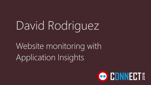 Website monitoring with Application Insights