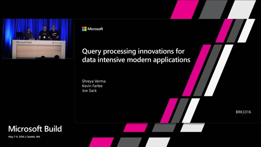 Query Processing Innovations for data intensive, modern applications