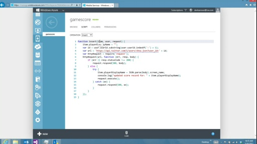 Microsoft DevRadio: (Part 7) Using Windows Azure to Build Back-End Services for Windows 8 Apps – Authentication Tips and Tricks