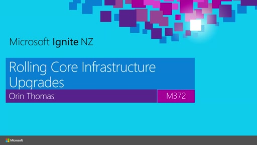 Rolling Core Infrastructure Upgrades
