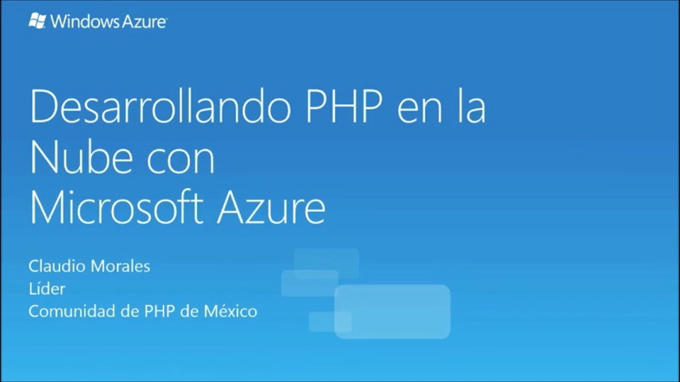 PHP y Azure WebSites
