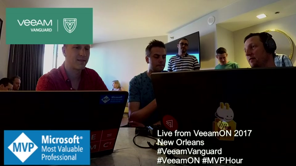 Episode 65 - Interview with Ian Sanderson at VeeamON 2017