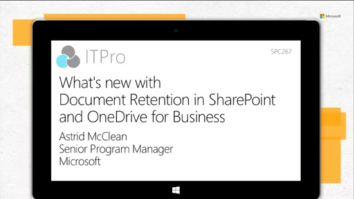What's new with Document Retention in SharePoint and OneDrive for Business