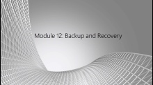 SQL Server Essentials for Oracle DBAs: (12) Backup and Recovery