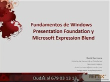 Fundamentos WPF y Expression Blend