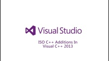 ISO C++ Additions in Visual C++
