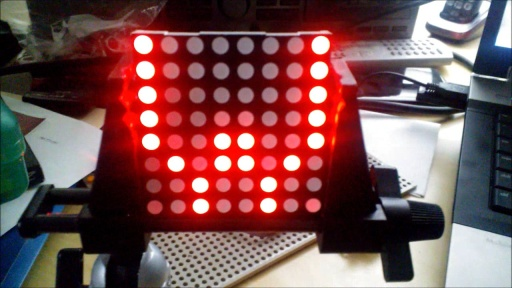 Gadgeteer LED Matrix Module Demo