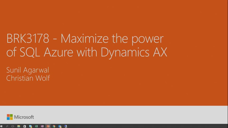 Extend Dynamics AX for retail and commerce   Microsoft Ignite 2016