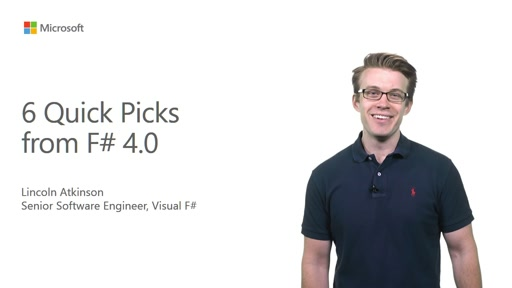 Six Quick Picks from Visual F# 4.0