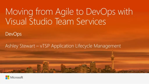 Moving from Agile to DevOps with Visual Studio Team Services