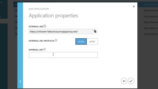 Azure AD Application Proxy