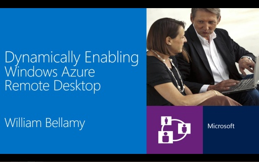 Dynamically Enabling Microsoft Azure Remote Desktop