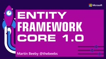 Entity Framework Core 1.0