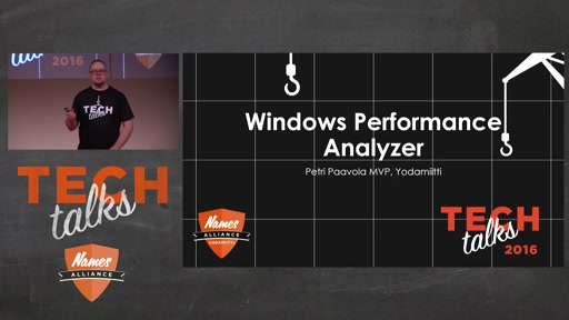 Tech Talks 2016 Citrix Stage Windows Performance Analyzer
