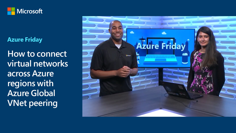 How to connect virtual networks across Azure regions with Azure Global VNet peering