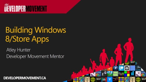 Building Windows 8/Store Apps