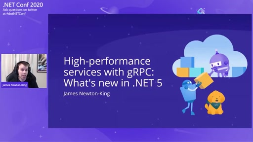 High-performance Services with gRPC: What's new in .NET 5
