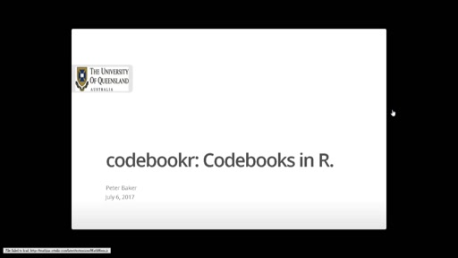 codebookr: Codebooks in *R*