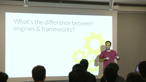 Building a game framework as opposed to using a game engine | Track: Dev & Engines