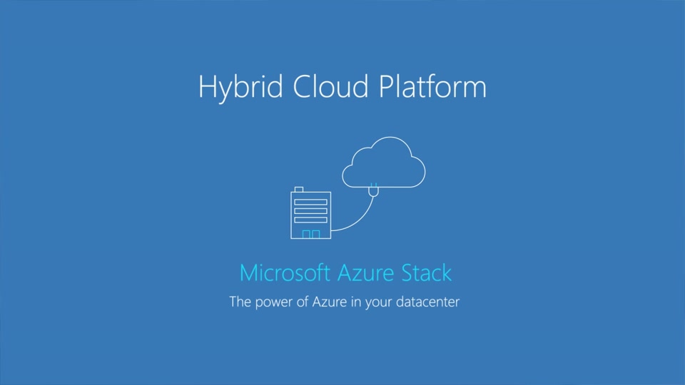 What is Microsoft Azure Stack?