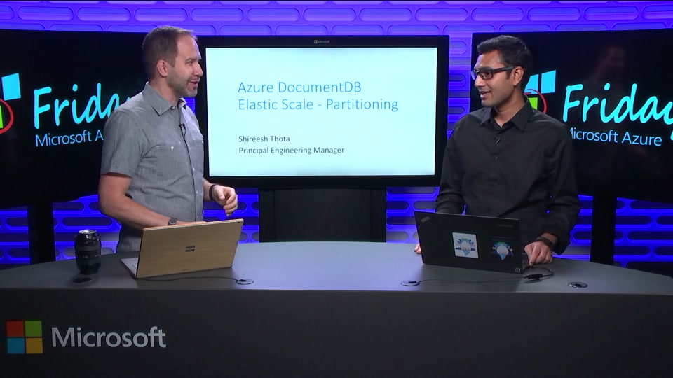 Azure DocumentDB Elastic Scale - Partitioning