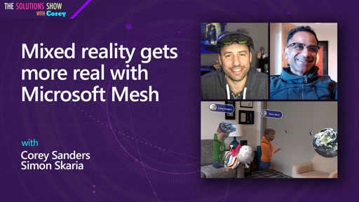 Mixed reality gets more real with Microsoft Mesh