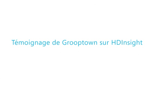 Build 2014 - Témoignage de Grooptown sur HDInsight