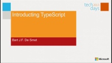 Introducing TypeScript
