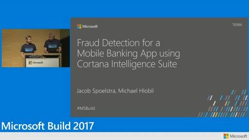 Fraud detection for a mobile banking app using Cortana Intelligence Suite