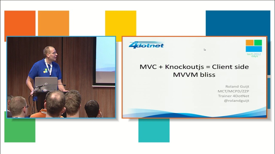 MVC + Knockoutjs = Client side MVVM bliss