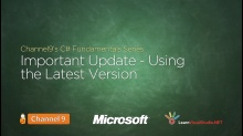 C# Fundamentals Important Update!