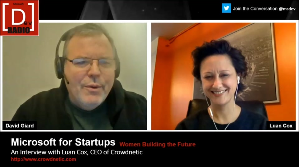 Startup Stories: (Part 5) Women Building the Future - An Interview with Luan Cox, CEO of Crowdnetic