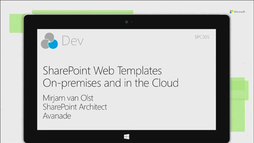 SharePoint Web Templates for on-premises and the Cloud