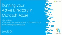 Running your Active Directory in Windows Azure