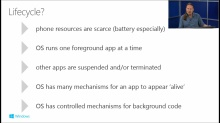 Building Apps for Windows Phone 8.1: (07) Windows Runtime App Lifecycle