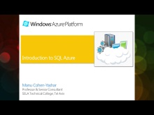Windows Azure Jump Start (07): Introduction to SQL Azure