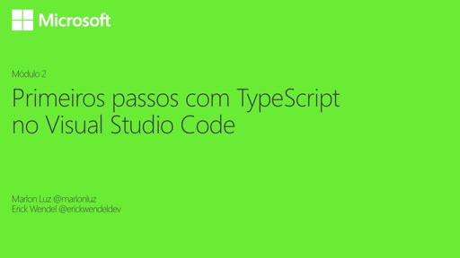 Primeiros passos com TypeScript no Visual Studio Code