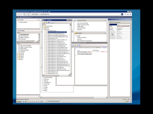 Microsoft Dynamics AX 2012 - Developer Workspace