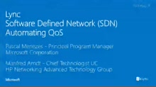 Software Defined Networking: Quality of Service redefined