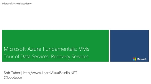 28. Microsoft Azure Fundamentals: Virtual Machines - Tour of Data Services: Recovery Services [Vietnamese Subtitles]