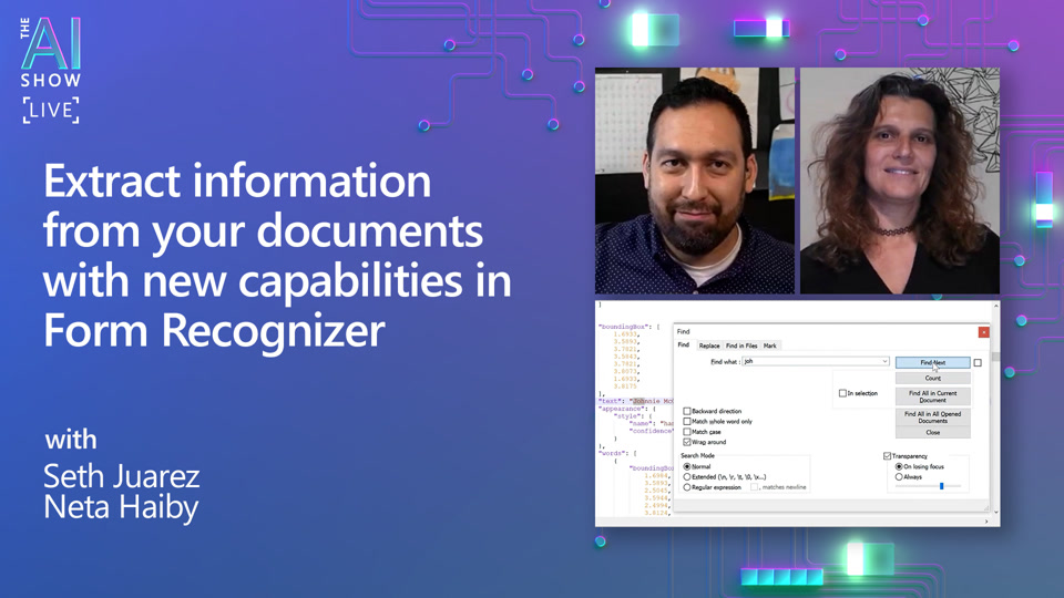 Extract information from your documents with new capabilities in Form Recognizer